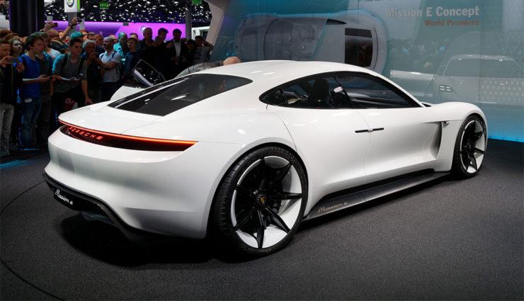 Porsche-Elektroauto Mission E: Mehrere Leistungsstufen geplant