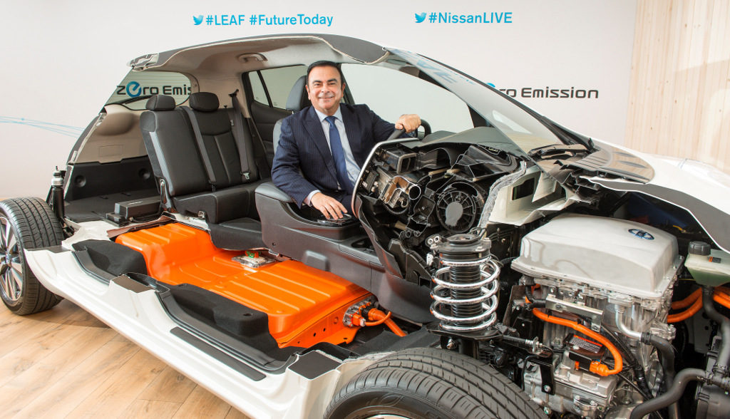 Renault-Nissan Elektroauto Carlos Ghosn