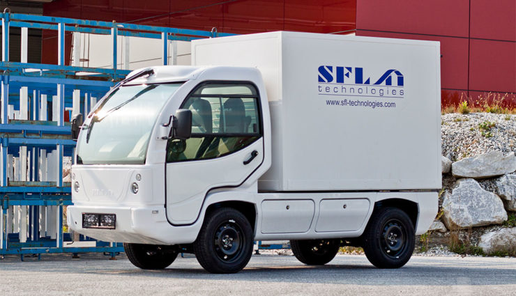 Steirischer Elektro-Transporter ELI läuft vom Band