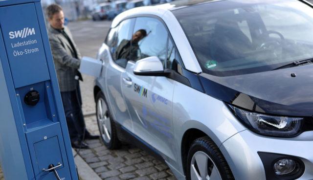 Stadtwerke München: Alle neuen Elektroauto-Ladestationen mit Direktbezahlung