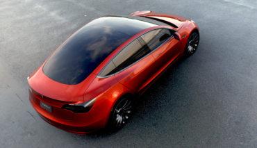 Tesla Model 3 Auslieferung
