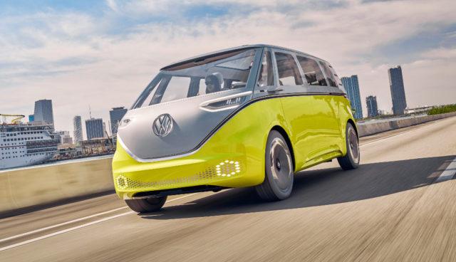 VW Elektroauto-Bus I.D. Buzz hat gute Serienchancen