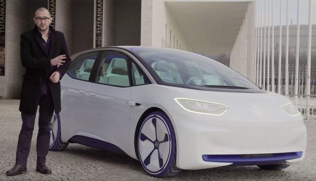 So fährt sich VWs Elektroauto-Studie I.D. (Videos)