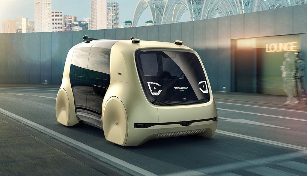sedric vws selbstfahrender elektroauto kleinbus. Black Bedroom Furniture Sets. Home Design Ideas
