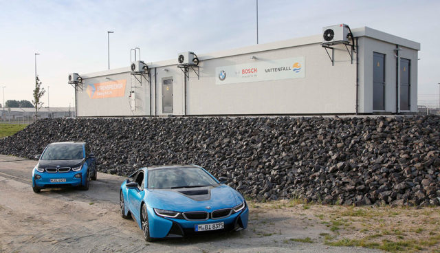 Vattenfall-BMW-i3-Elektroauto-Speicher