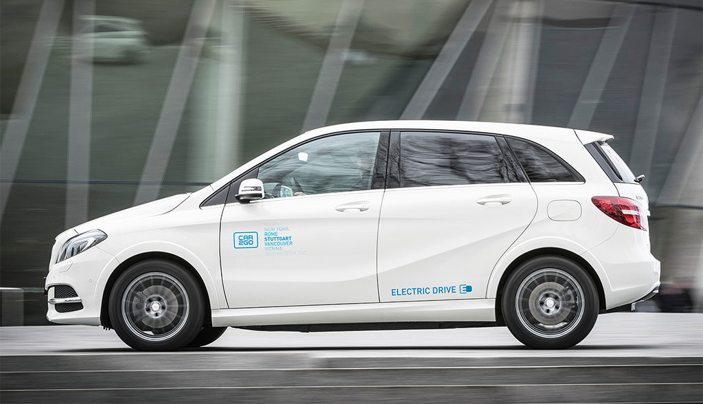 50 Elektroauto B Klassen Fur Car2go Carsharing In Stuttgart