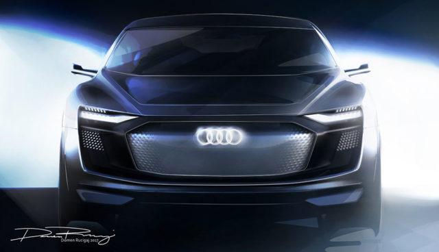 Audi-Elektroauto e-tron Sportback: Erste Teaser vor Shanghai