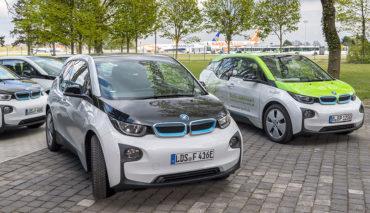 BMW-i3-Elektroauto-Flughafen-Berlin