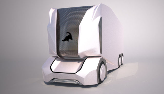 Einride-T-Pod-Elektro-Transporter