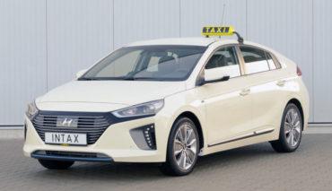 Hyundai-Ioniq-Taxi-Elektroauto