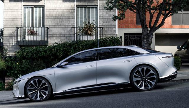 Lucid Motors: Vorerst kein kompaktes Elektroauto geplant
