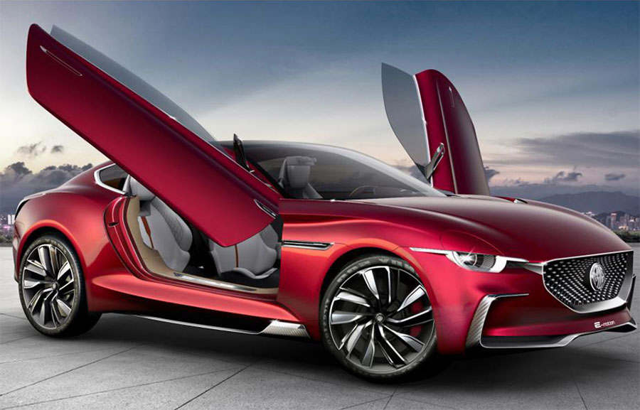 MG E-Motion: Erschwinglicher Elektroauto-Sportler in Arbeit ...