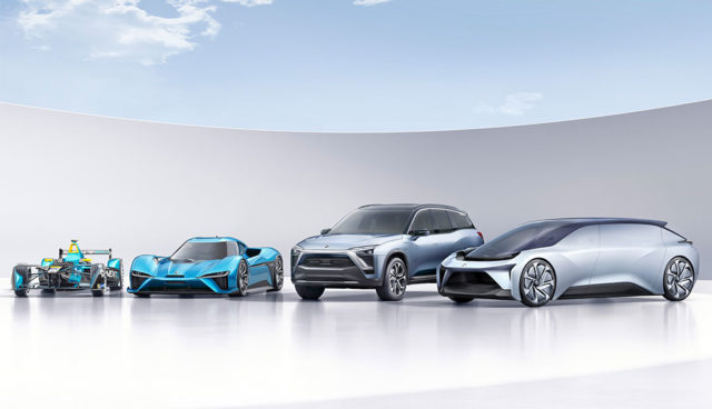 NIO-Elektroautos