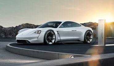Porsche Elektroautos Mission E Technik