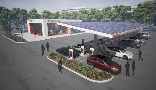 Tesla: 10.000+ Supercharger-Ladeplätze bis Ende 2017
