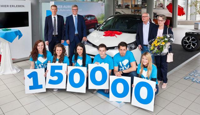 Toyota: 150.000stes Hybridauto in Deutschland übergeben