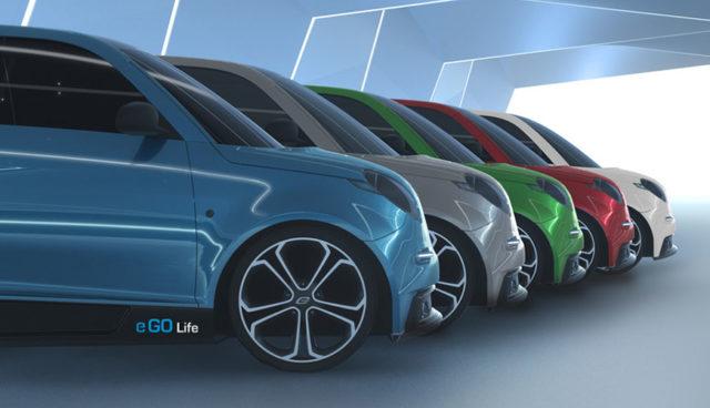 Deutscher Elektroauto-Flitzer e.GO Life wird in Aachen produziert