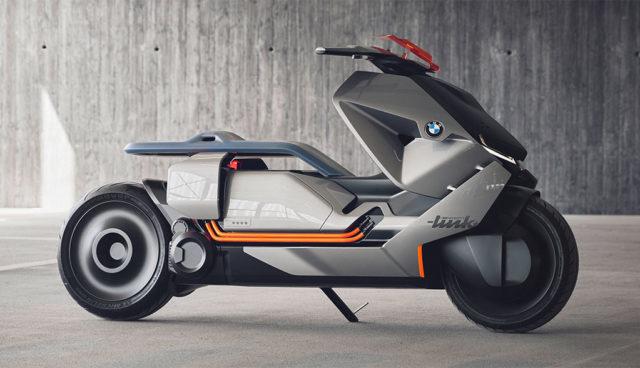 BMW zeigt Elektro-Motorrad-Studie Concept Link