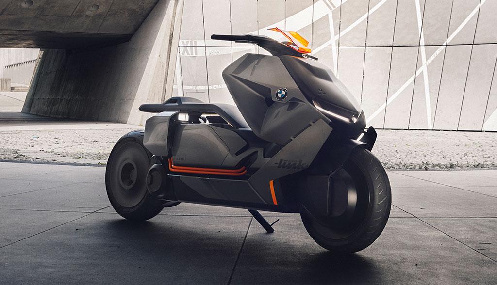 bmw zeigt elektro motorrad concept link bilder video