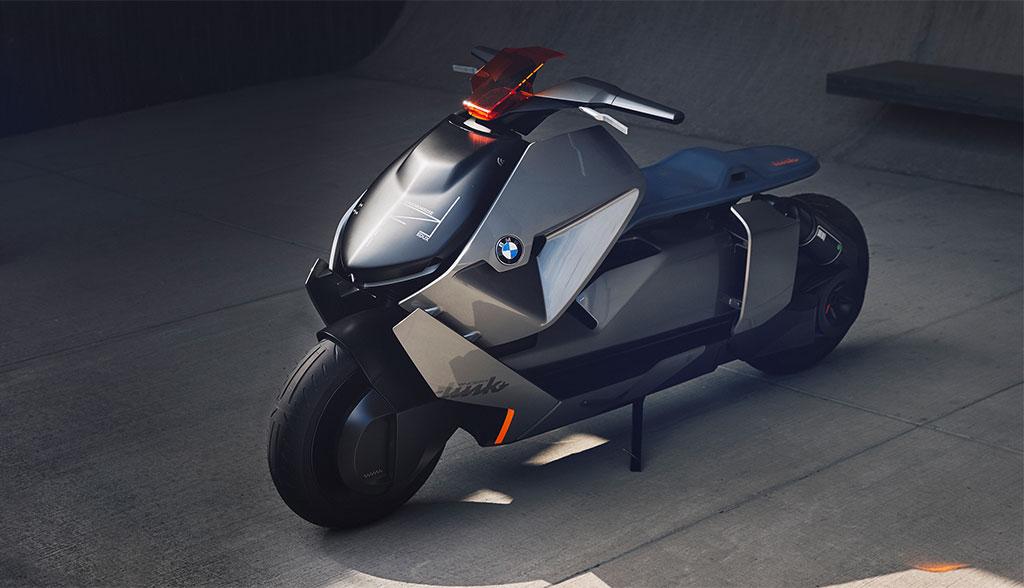 bmw zeigt elektro motorrad concept link bilder video. Black Bedroom Furniture Sets. Home Design Ideas