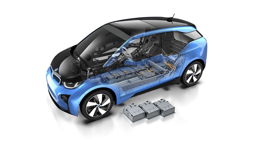BMW-Elektroauto-Produktion–Batterie