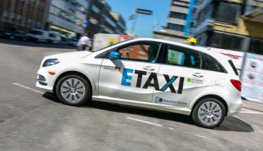 Elektroauto-Taxi-Stuttgart