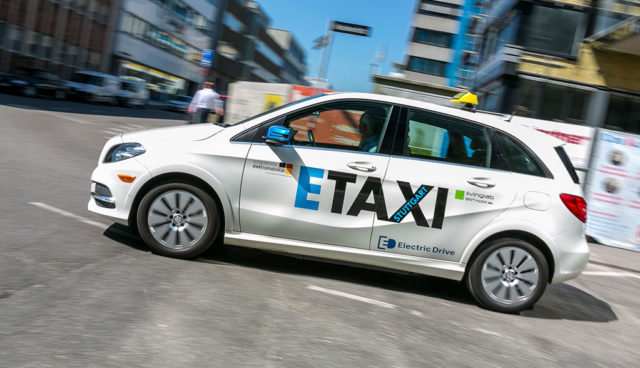 Stuttgarter Taxiflotte ab 2020 rein elektrisch?