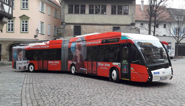Esslingen will Busverkehr besser elektrifizieren