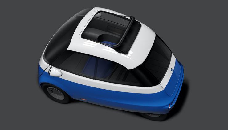 Neue Infos zum Microlino: Cockpit mit Touchscreen und standardmäßiges Schiebedach
