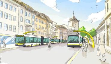 Schaffhausen-Elektrobusse