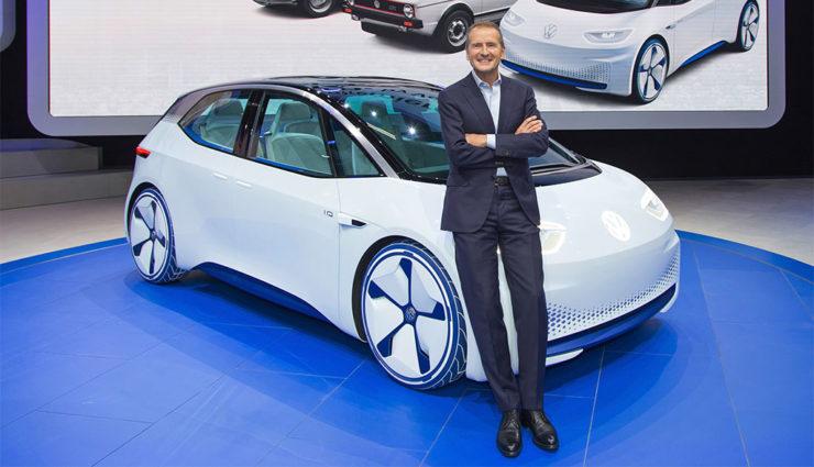 """VW-Chef: """"Bis 2025 Weltmarktführer in der Elektromobilität"""""""