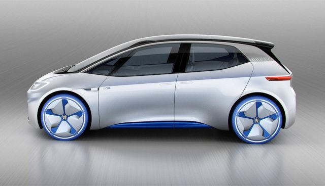 VW-Elektroauto I.D. wird in Zwickau gebaut