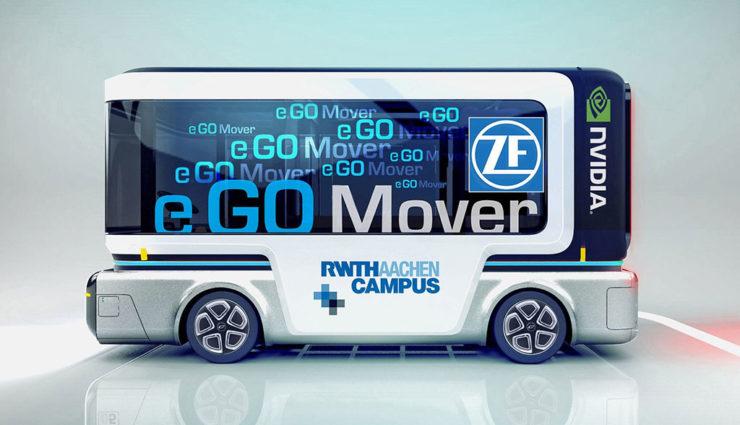 e.GO Mobile und ZF bauen Elektro-Minibus mit Selbstfahr-Technik
