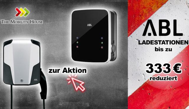 Nur kurz bei The Mobility House: Ladestationen von ABL stark reduziert. Jetzt bis zu 333  Euro sparen!