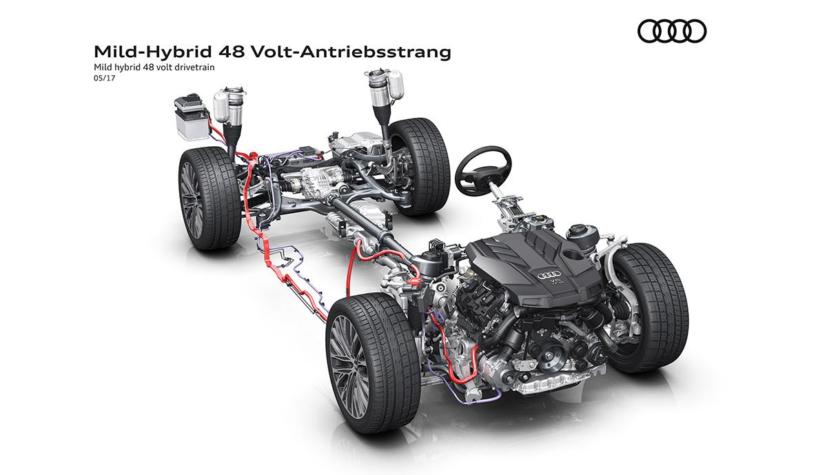 Audi-A8-48-Volt-Bordnetz