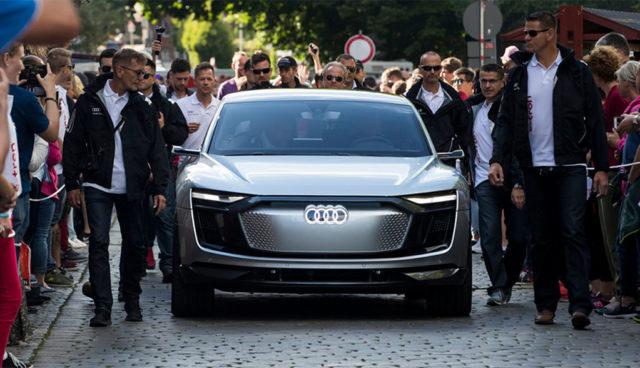 Warum Audi zunächst nur teure Elektroautos baut