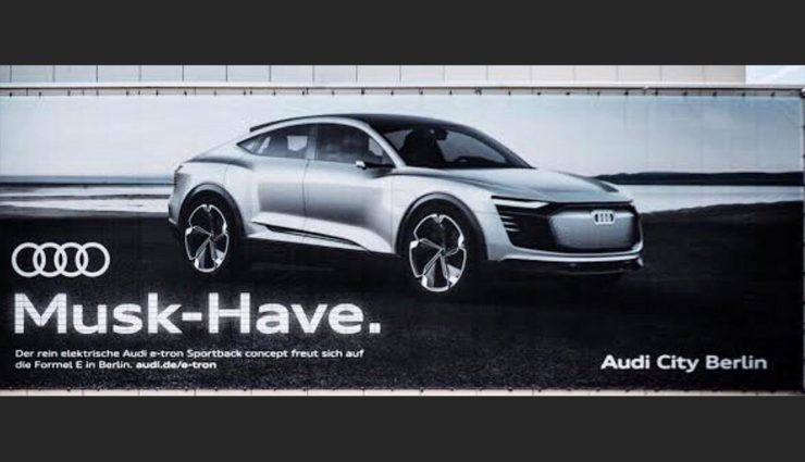 "Audi-Elektroauto ein ""Musk-Have""?"