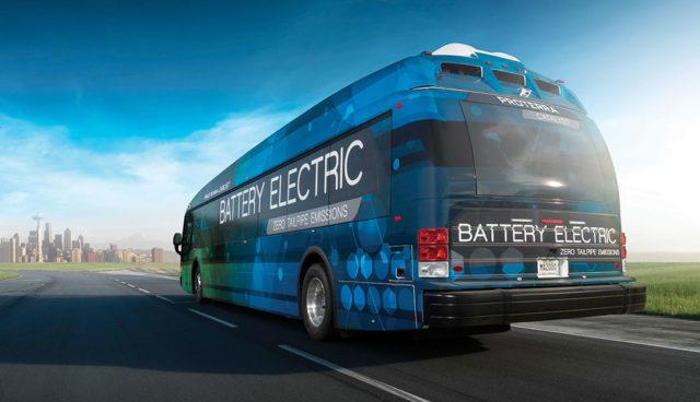 BMW steigt bei Elektrobus-Hersteller Proterra ein