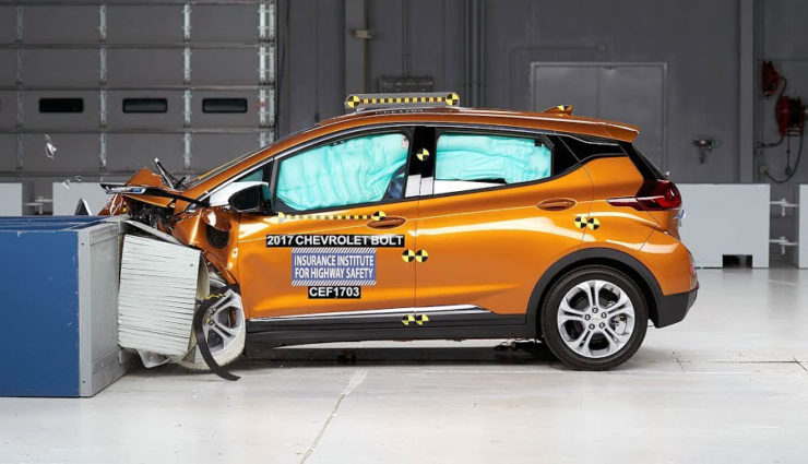 Chevy Bolt - Basis des Opel Ampera-e - erreicht Top-Bewertung bei US-Crashtests