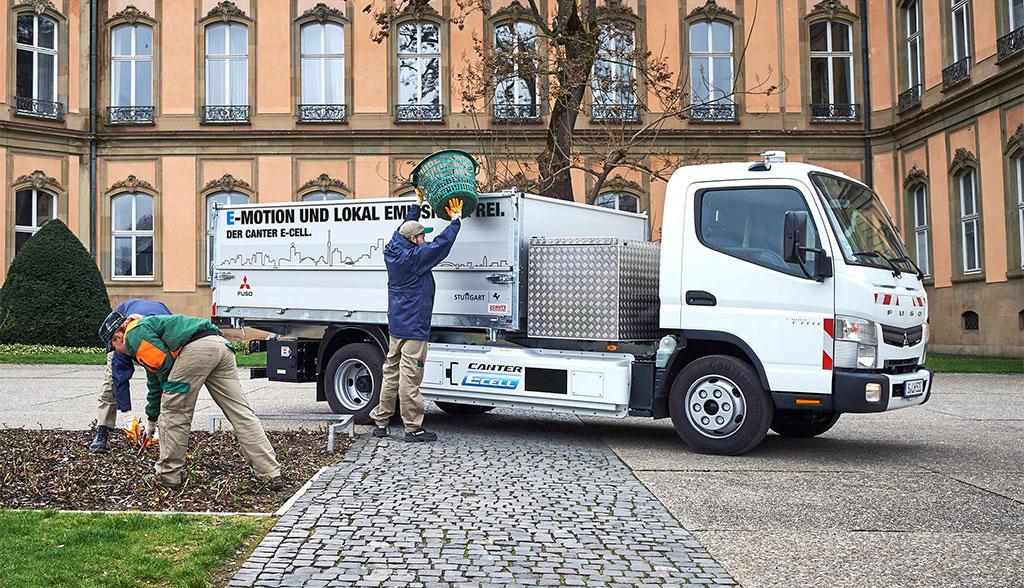 Daimler-Fuso-eCanter-Elektro-Truck