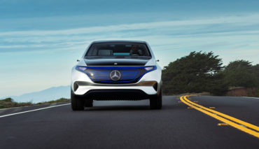 Daimler-Mercedes-Elektroauto