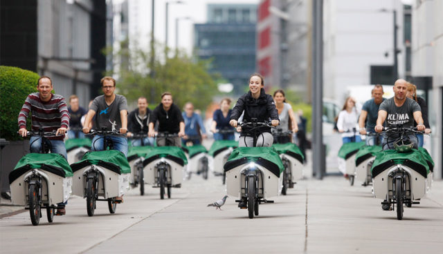 """Donk-EE: """"Europaweit größtes Verleihsystem für Elektro-Lastenräder"""" in Köln vorgestellt"""