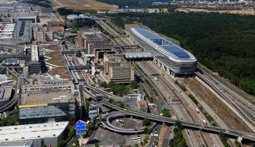 Frankfurt-Flughafen-Elektroauto-Ladestation