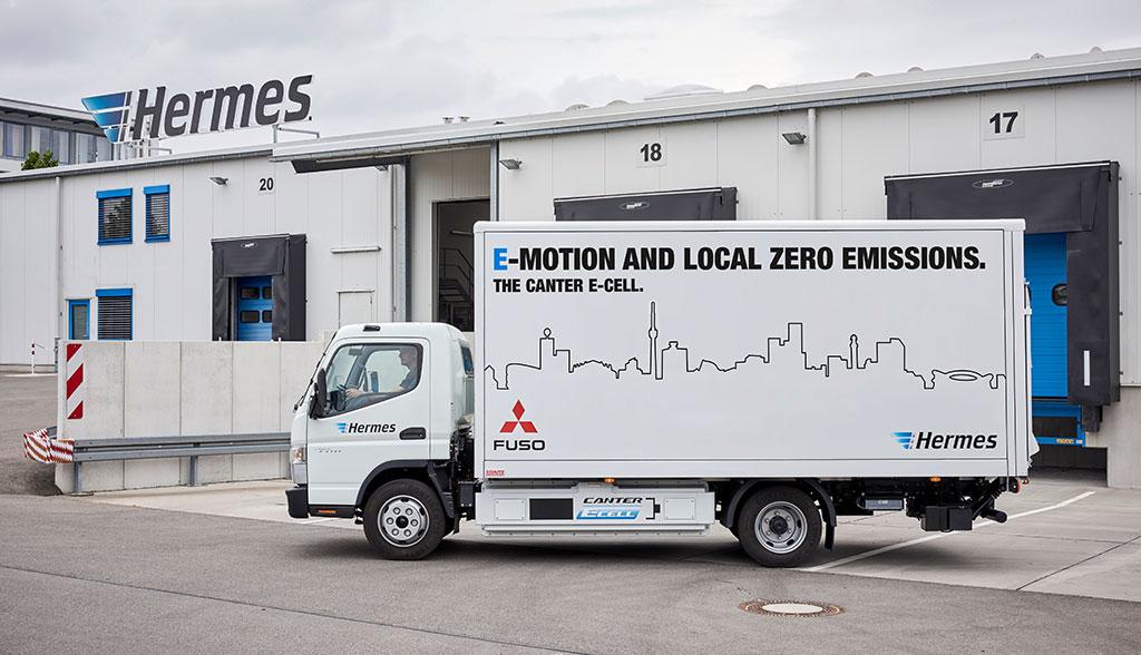 Fuso-eCanter-Elektro-Truck-Hermes