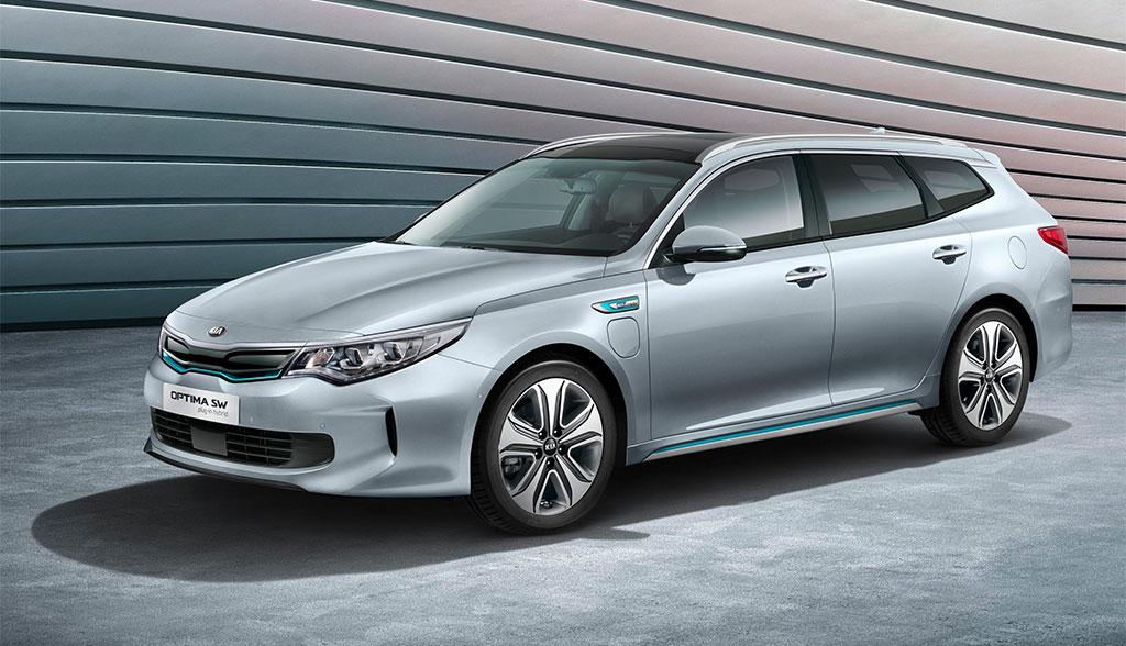 Kia Optima Sportswagon Plug in Hybrid kostet ab 41 940