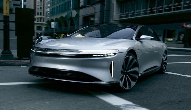 Die Designphilosophie von Elektroauto-Startup Lucid Motors