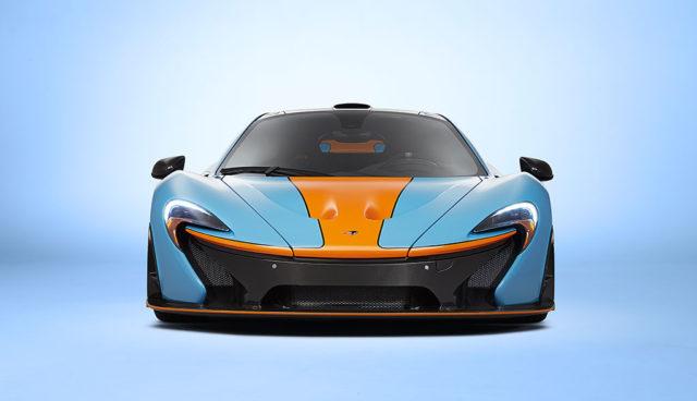 McLaren-Elektroauto-Sportwagen