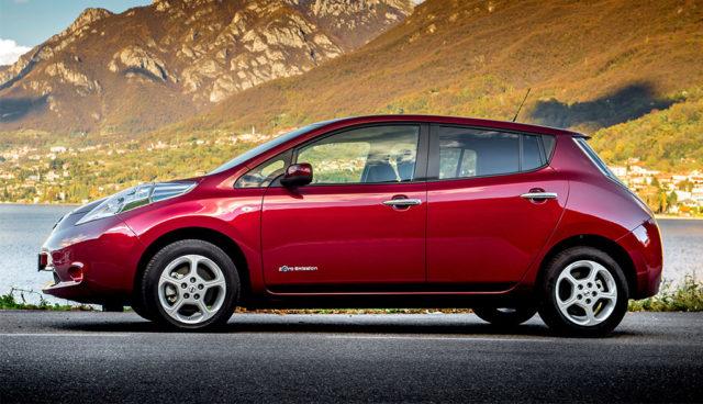 Neue Aktionsfinanzierung für Nissans Kompakt-Elektroauto LEAF