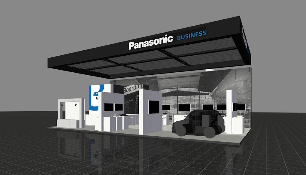 Panasonic-Elektroauto