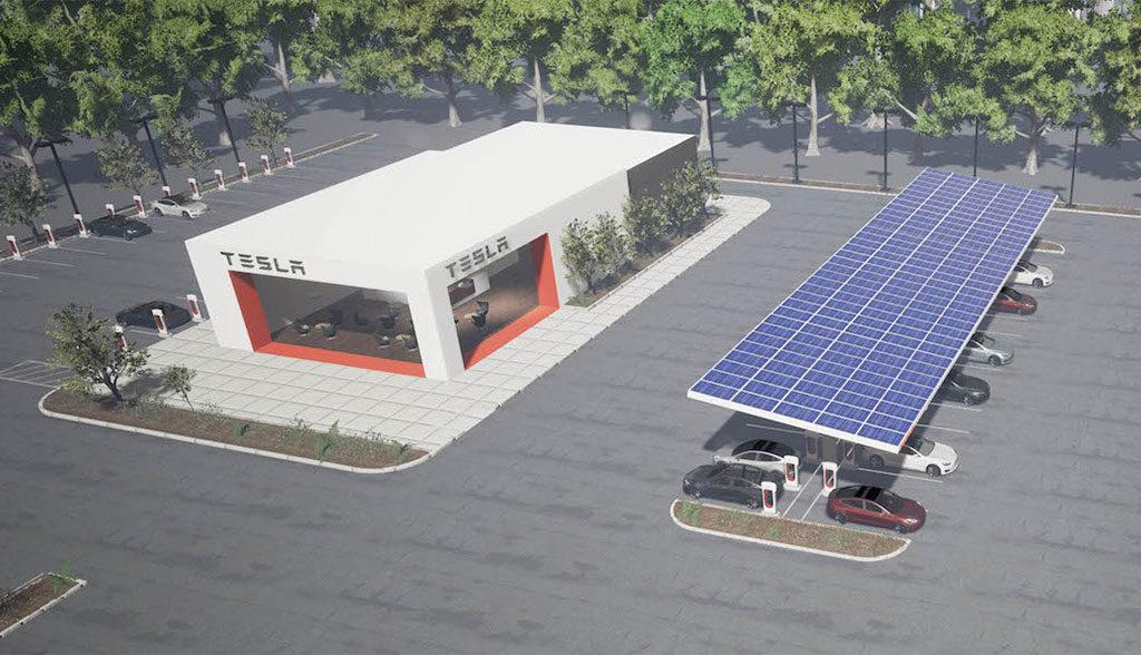 Supercharger-Solar-Oekostrom